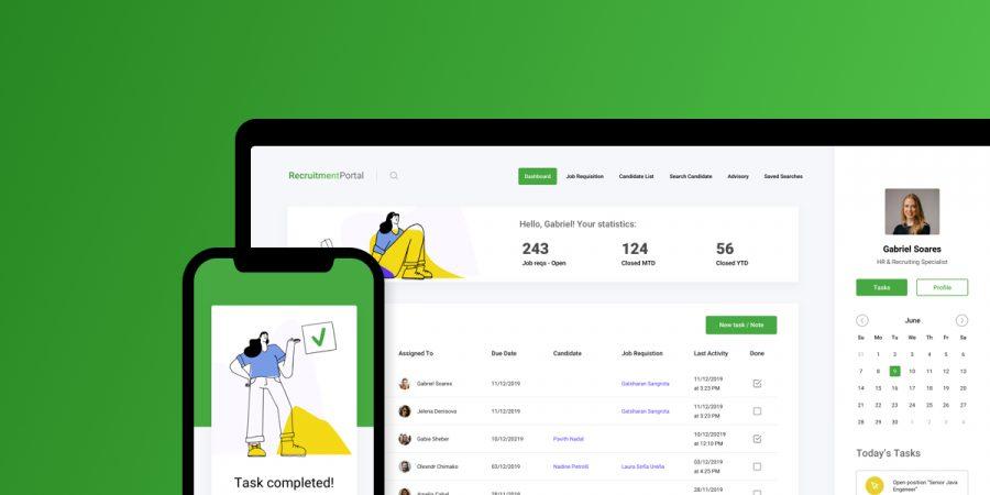 interim management portal