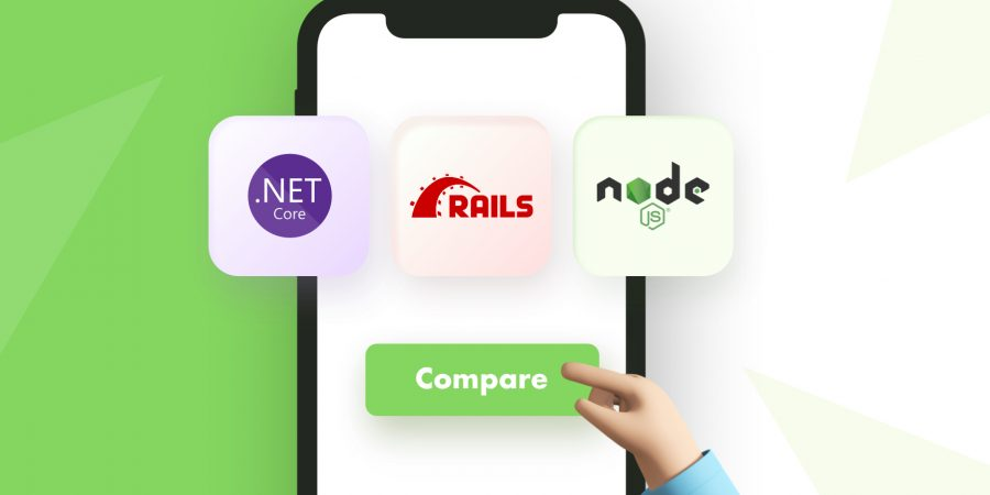 NET Core vs Node.js vs RoR