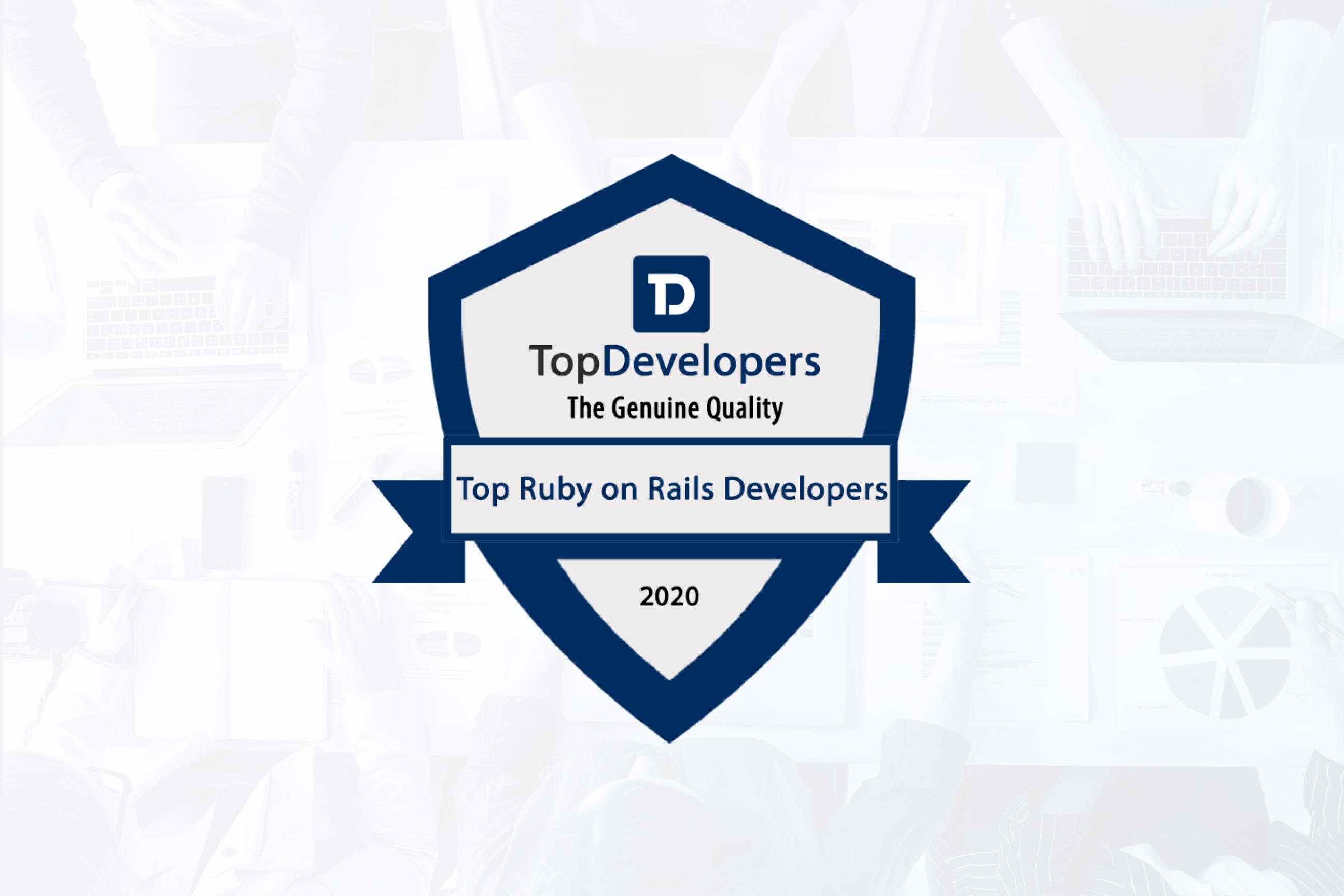 TopDeveloper award