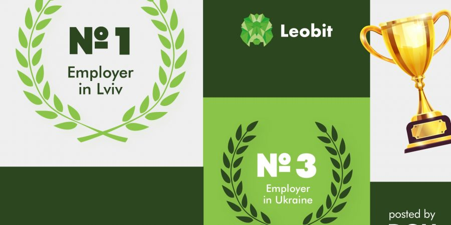 Leobit named best IT employer by DOU