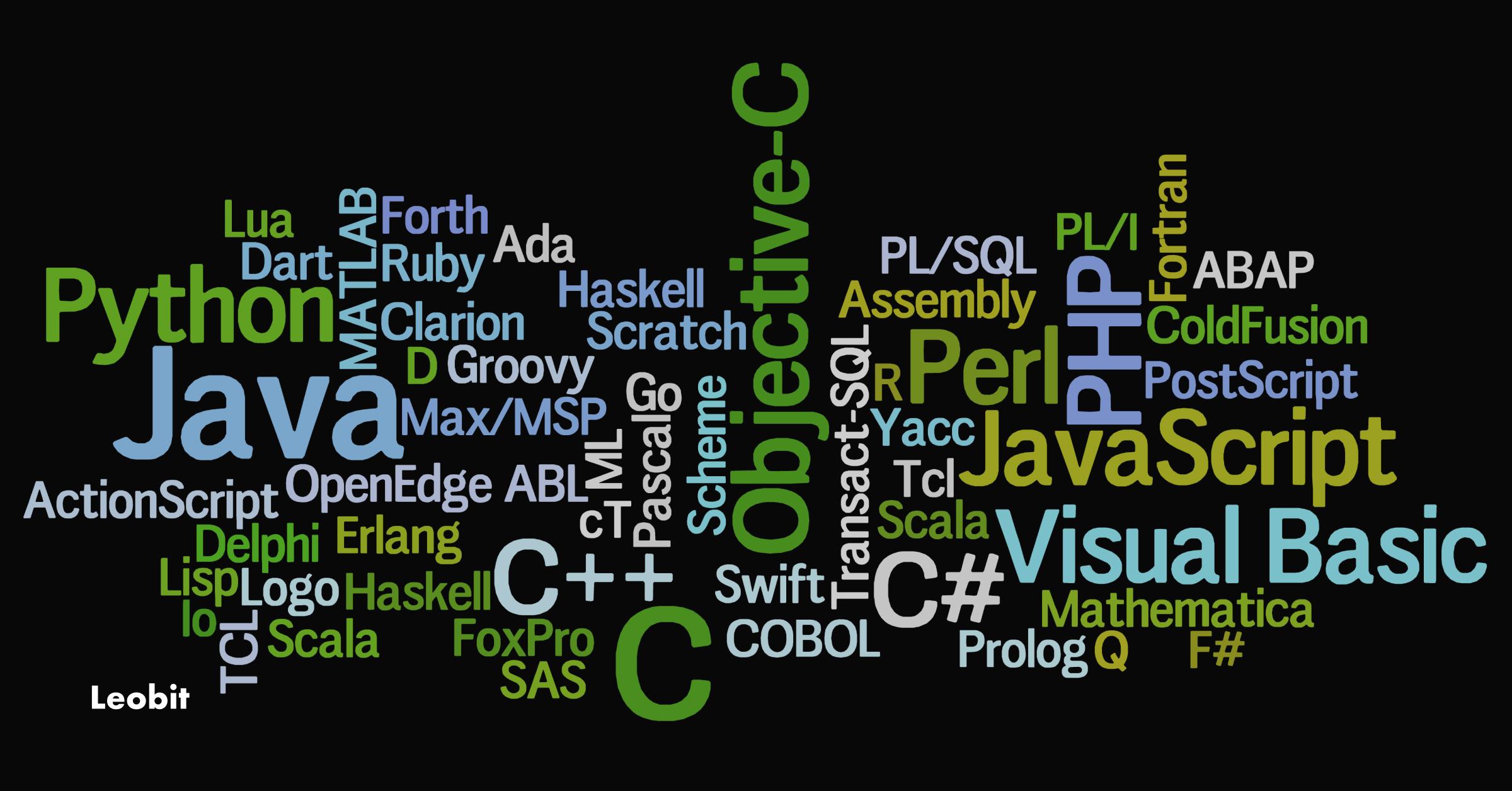 best programming languages 2021